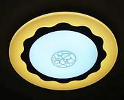 伊明特欧式简约室内圆形黄色吸顶灯