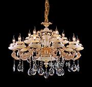 典雅晶莹璀璨水晶灯