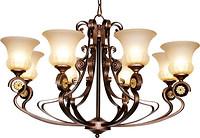 法拉奇欧式简约室内曲型铜灯