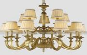 柏艺灯饰室内精致LED吊灯B5092/10别墅卧室客厅欧式吊灯