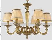 柏艺灯饰室内典雅LED吊灯B5092/6楼梯客厅大气吊灯