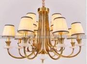 柏艺室内典雅LED吊灯B5072/8+4创意别墅吊灯