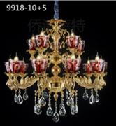 侨治萨特现代室内酒店大厅9918-10+5水晶吊灯