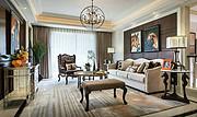 点名现代室内大厅卧室钢材玻璃吊灯