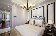 点名室内现代明亮剔透白色钢材玻璃吊灯