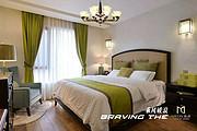 点名现代卧室大厅客厅白色钢材玻璃吊灯