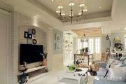 点名现代室内钢材玻璃白色卧室客厅吊灯