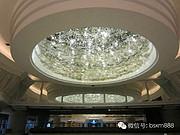 博思西梦现代室内水晶玻璃白色剔透吊灯