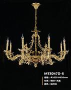 保罗帝莎欧式室内铜灯8047D-8