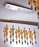 万丽达欧式典雅室内水晶吊灯WJ8054P-12