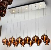 万丽达欧式典雅室内水晶吊灯WJ8062P-12