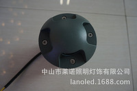 现代简约圆形黑色3W/5W/9W/12WLED大功率埋地灯
