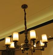 星宇达邦新中式铜灯HD8036-8室内现代吊灯