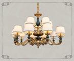 KALUX装饰灯具17906/10+5铜色铜灯