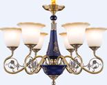 福仕.卡米特33015-6家居照明美式铜灯