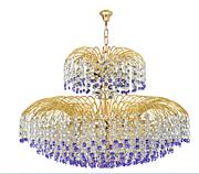 宝辉现代室内光明雨露全铜水晶吊灯