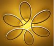 帕洛达PRD6059-6  花型天花灯吸顶灯
