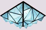 图卡斯5126星子光年蓝色现代室内吊灯