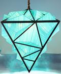 图卡斯5125西拉水晶现代蓝色水晶吊灯