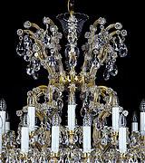 晶辉兰蒂斯室内典雅水晶吊灯1850/16+8+1