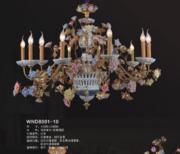 维娜迪WND80001-10现代室内大厅大堂蜡烛灯吊灯