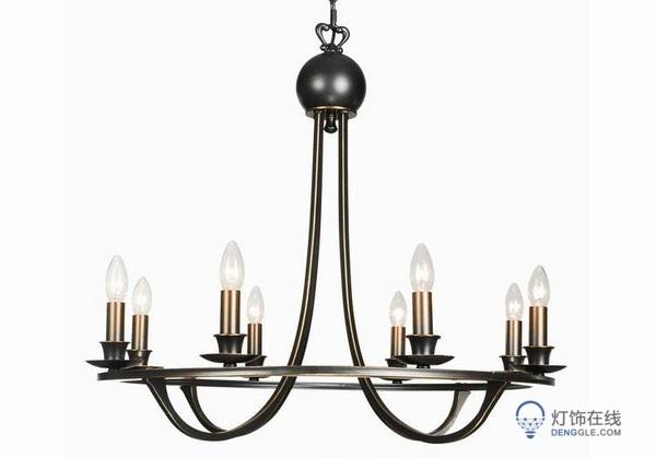 下面就一起来看一下美式蜡烛吊灯品牌排行榜吧?图片