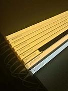 亮而彩一体化支架灯T5led日光灯0.3米0.6米0.9米1.2米圆形/方形一体化LEDT8灯管