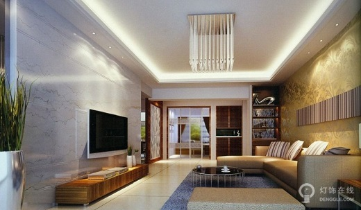 客厅用水晶灯是亚克力还是吊灯好 两者有哪些区别