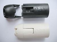 E12-S02 美规 塑料 插线式 光身灯头