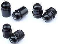 E27-D02 欧规 电木 锁线式 光身灯头