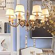 美式乡村吊灯 餐吊非标定制灯具入户花园灯创意灯具 灯具家具卧室