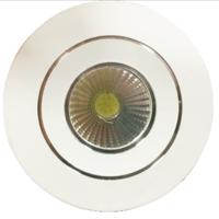 圆形小射灯-高配银色内圈