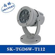 LED投射灯6W投光灯工程灯庭院灯聚光灯景观灯小射灯户外室外防水