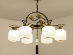 天籁极光中国风室内吊灯