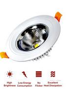 现代圆形COB筒灯
