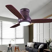52寸带灯风扇装饰吸顶风扇配遥控电扇灯