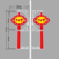 弘腾2.1米灯笼双耳中国结灯
