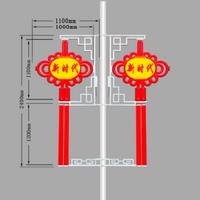 弘腾2.4米灯笼双耳中国结灯