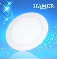 金盟LED9W圆形超薄面板灯