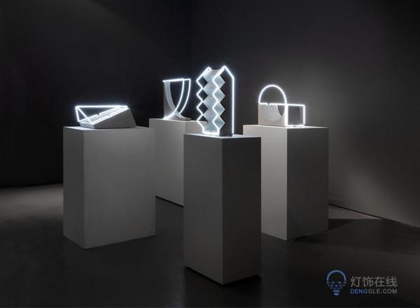 open space系列雕塑灯具 跨越维度玩转透视