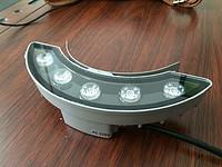 厂家直销LED瓦楞灯 月亮灯 防水瓦面灯 凉亭装饰工程灯瓦片灯