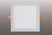 暗装方形面板灯