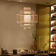 中式田园餐厅装修灯具民宿吊灯手工艺灯具