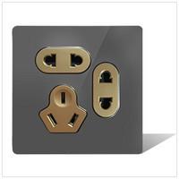 智能镜面USB五孔插座HTL-S150