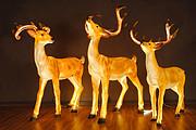 玻璃钢造型-梅花鹿