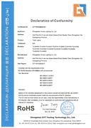 RoHS认证(Track lights)