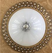 欧式圆形水晶吸顶灯