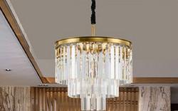 美式圆形水晶吊灯的外观好看吗