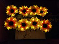 LED向日葵地插