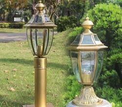 欧式庭院草坪灯该如何去安装呢